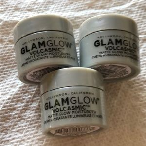 GlamGlow volcasmic face cream x3 moisturizer set